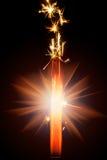 Chuveirinho do fogo de artifício Imagens de Stock