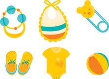 Chuveiro de bebê bonito Imagens de Stock Royalty Free