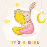 Chuveiro de bebê ou cartão de chegada Imagem de Stock Royalty Free