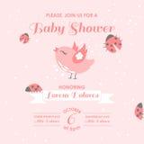Chuveiro de bebê ou cartão de chegada Foto de Stock Royalty Free