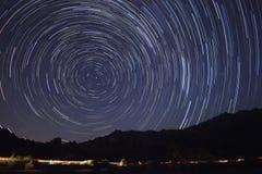 Chuveiro de meteoro de Perseid foto de stock royalty free