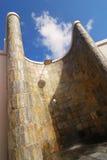 Chuveiro e céu azul Imagem de Stock