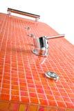 Chuveiro moderno da telha Imagem de Stock Royalty Free