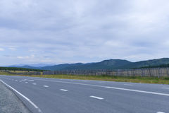 Chuya Highway or Chuysky Trakt in Altai, Siberia Royalty Free Stock Photography