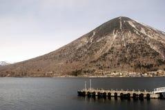 chuzenji日本湖国家日光公园 免版税图库摄影