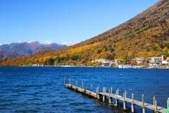 Chuzenji湖 免版税库存图片