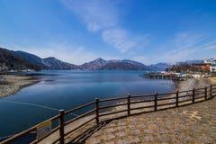 湖Chuzenji 库存图片