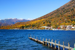 Chuzenji jezioro Obraz Royalty Free