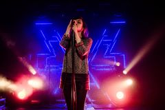 Chvrches Fotografia Stock