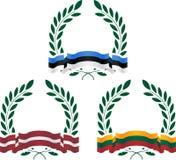Chwała państwa bałtyckie Zdjęcia Royalty Free