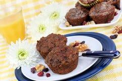 chwały zdrowa ranek muffins banatka cała Zdjęcia Royalty Free