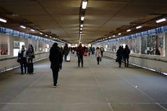 Chwilowa Tunelowa Stuttgart Główna stacja Obrazy Stock