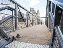 Chwilowy most obrazy royalty free