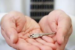 chwyta klucz Zdjęcie Stock