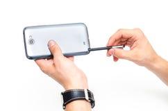 Chwytać stylus Fotografia Stock