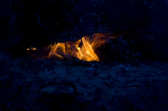Chwytający ogień Obrazy Royalty Free