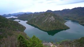 Chył Rijeka Crnojevica rzeka zdjęcie wideo