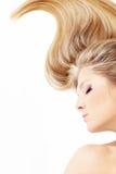 chyłu włosy Fotografia Royalty Free
