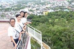Chybienie Ponadnarodowy Tajlandia 2017, Campingowa wycieczka i aktywność, Zdjęcie Royalty Free
