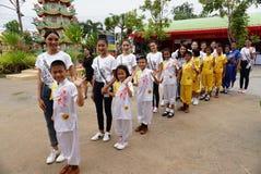 Chybienie Ponadnarodowy Tajlandia 2017, Campingowa wycieczka i aktywność, Zdjęcia Royalty Free
