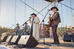 Chybienie Scania. Muzyka country koncert. Obrazy Royalty Free