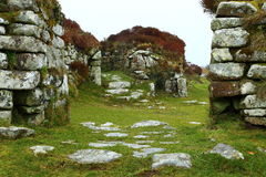 Chysauster Ancient Village (English Heritage) Royalty Free Stock Photo
