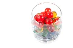Ciérrese encima de bola de la jalea Imagen de archivo libre de regalías