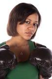 Ciérrese encima de boxeador Fotos de archivo