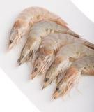 Ciérrese encima de camarón en el cuenco Fotos de archivo libres de regalías