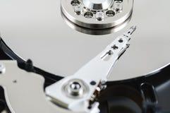 Ciérrese encima de disco duro Fotografía de archivo libre de regalías