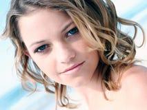 Ciérrese encima de hembra Foto de archivo libre de regalías