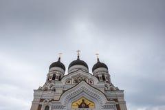 Ciérrese encima de iglesia Imagen de archivo libre de regalías