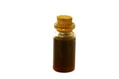 Ciérrese encima de la abeja y de la miel, panal Imágenes de archivo libres de regalías