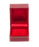 Ciérrese encima de la caja roja Foto de archivo libre de regalías