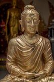 Ciérrese encima de la cara de Buda Foto de archivo
