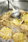 Ciérrese encima de la comida vegetariana china Imagenes de archivo