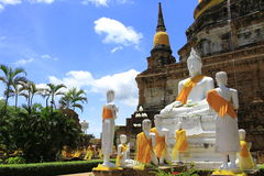 Ciérrese encima de la estatua buddha Fotos de archivo