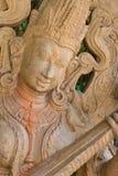 Ciérrese encima de la estatua del ángel en Tailandia Imagen de archivo libre de regalías