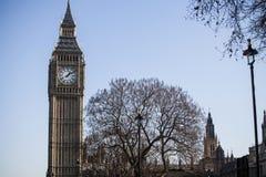 Ciérrese encima de la imagen de Big Ben Imágenes de archivo libres de regalías