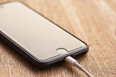 Ciérrese encima de la imagen de la nueva manzana iphone7 Imagenes de archivo
