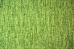 Ciérrese encima de la línea textura de la tela del verde amarillo Imagen de archivo libre de regalías