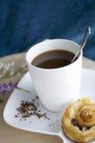 Ciérrese encima de la taza de café Fotos de archivo