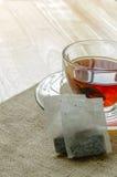Ciérrese encima de la taza de té Imágenes de archivo libres de regalías
