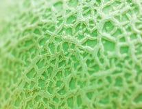 Ciérrese encima de la textura del melón. Imágenes de archivo libres de regalías
