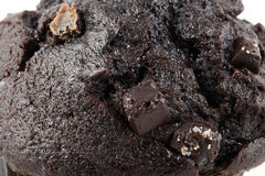 Ciérrese encima de los brownie del chocolate Fotografía de archivo libre de regalías