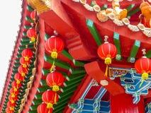 Ciérrese encima de los detalles de un templo chino en Kuala Lumpur Imagen de archivo libre de regalías