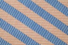 Ciérrese encima de modelo de la tela de las rayas Imagen de archivo