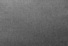 Ciérrese encima de modelo del fondo de la textura negra del dril de algodón Foto de archivo libre de regalías