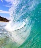 Ciérrese encima de onda Foto de archivo