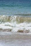 Ciérrese encima de onda con todo el detalle Fotografía de archivo